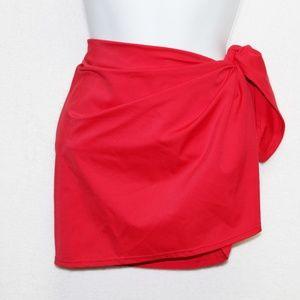 Victoria's Secret red swim beach tie waist sarong